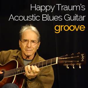 Happy Traum's Acoustic Blues Guitar Groove